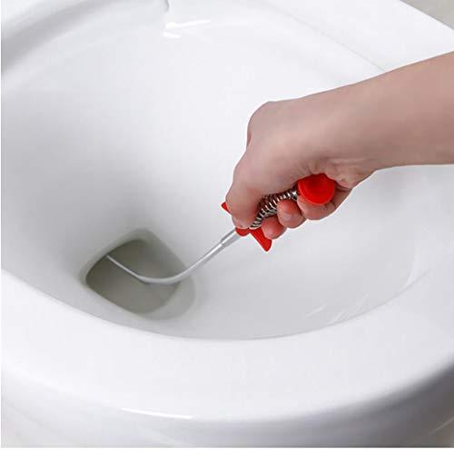Senhai Socorro de drenaje de metal precisi/ón herramienta de limpieza para ba/ño ba/ñera inodoro Alcantarillado cocina/ /2/tipos lavabo Serpiente de drenaje de 3/unidades pelo Catcher Clog Remover