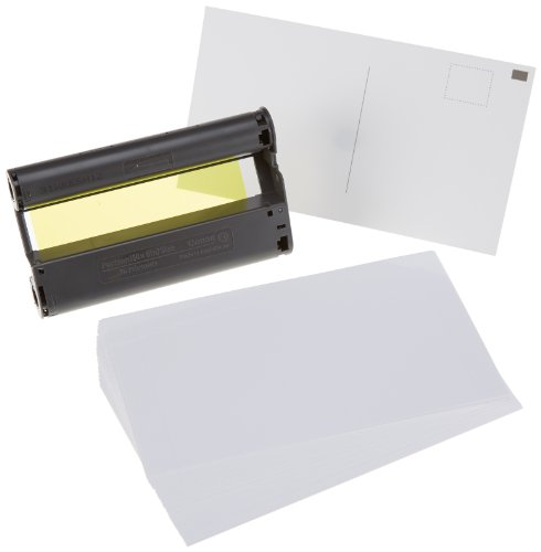 Canon Fotopapier für Canon Selphy CP 810, 36 Blatt A6 RS: Postkarte, Color Ink Paper Set, 100x148 mm, CP810