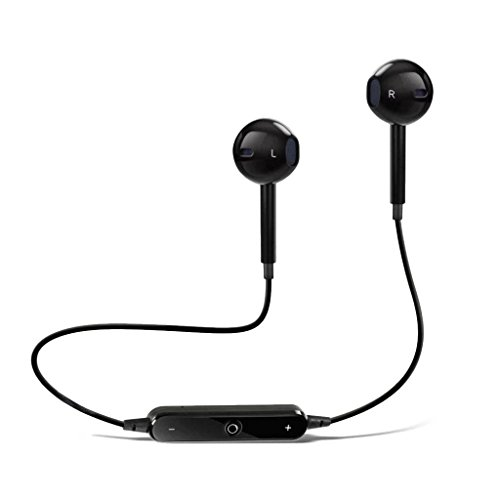Wireless Bluetooth in-Ear Headphones for Sony Xperia Z2 Tablet Wi-Fi Sports Bluetooth Wireless Earphone with Deep Bass and Neckband Hands-Free Calling inbuilt Mic Headphones with Long Battery Life and Flexible Headset