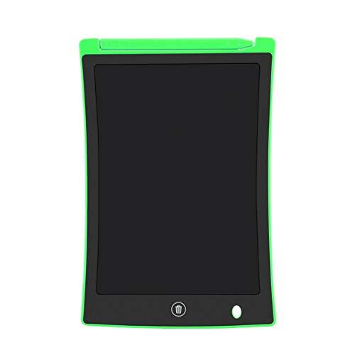HSKB - Pizarra de dibujo electrónica con pantalla LCD para niños y adultos, para escribir y dibujar en la escuela o en la oficina, verde (Verde) - WZF-123