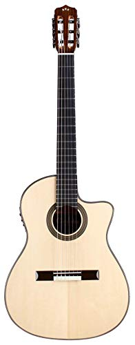 Cordoba 14Maple Elektroakustische Gitarre aus Fichtenholz, Braun