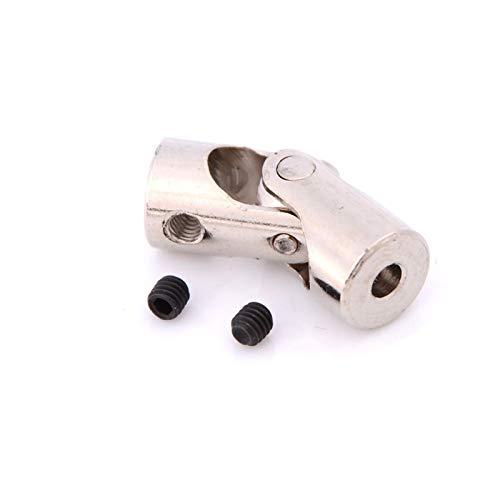 Basic Cellphone Cases Piezas CNC Acoplador 1pc 2/2.3/3 / 3.17 / 4mm Acoplamientos de Juntas universales Conector de Acoplamiento de Eje de Acero (Inner Diameter : 2 to 2point3mm)