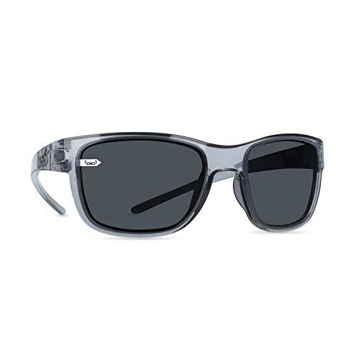 gloryfy unbreakable eyewear Gloryfy - Gafas de sol unisex irrompibles (G16, color gris ahumado, irrompibles, deportivas, unisex, grises, para adultos