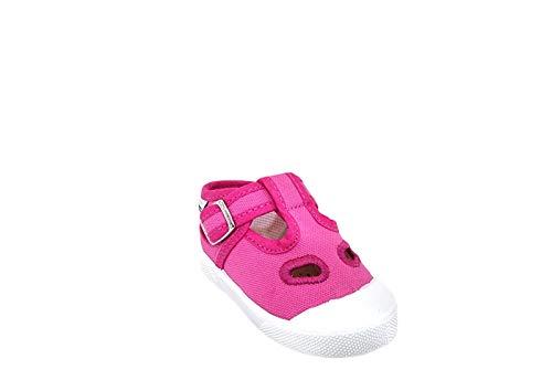SUPERGA Scarpe Sandali Baby Occhio di Bue Tessuto Fucsia S21A461-FUXIA