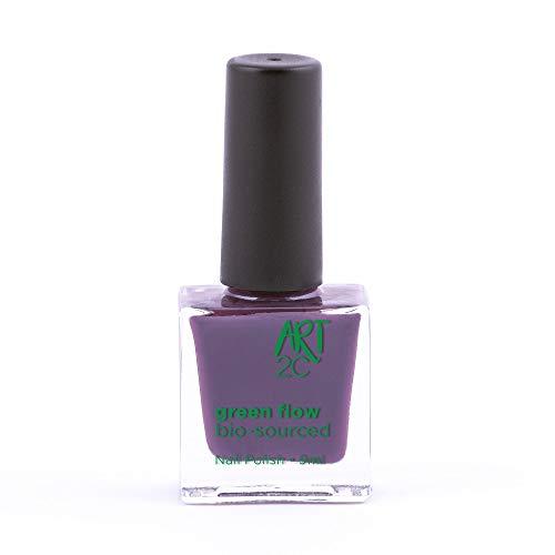 Art 2C 85% Bio-sourced Vegan Ultra-Pure Patented Nail Polish 24 Colours, 9ml, Colour -...