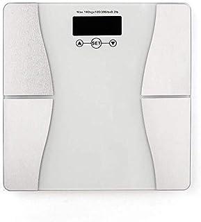 HJTLK Báscula de baño Digital, Báscula de Peso Báscula de Peso Inteligente Báscula de Peso Báscula de Peso Saludable para el hogar