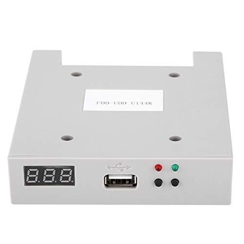 """Lazmin112 Emulatore di unità Disco Floppy SSD Portatile da 3,5"""", Floppy Disk 1,44 MB Lettore Disco Floppy USB FDD-UDD unità Disco Floppy per Controller industriali"""