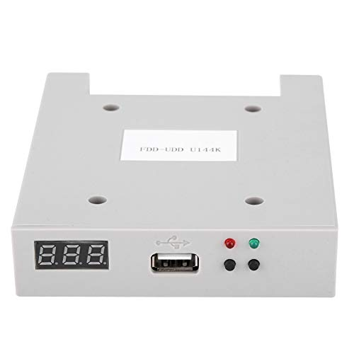 Jacksking Usb Emulator SFR1M44-U100 3.5in 1.44MB USB SSD Floppy Drive Emulator Plug and Play