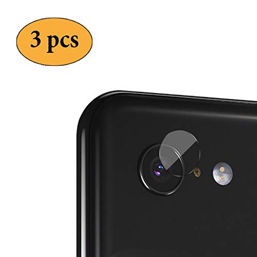 Newseego Google Pixel 3 XL Lens Protector [3 Pezzi] Protezione per Vetro Trasparente - Protezione ad Alta Definizione 2.5D per Google Pixel 3 XL - Cancella