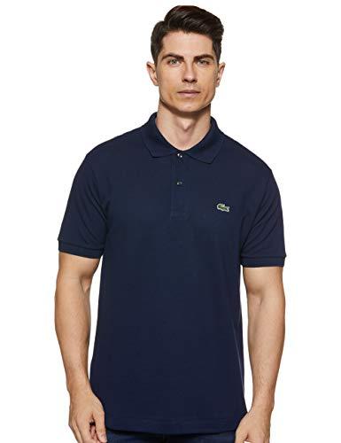 Lacoste L1212, Camisa de Polo para Hombre, Azul (Marine), XXL