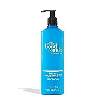 Bondi Sands Everyday Gradual Tanning Milk | Lasting Tanning Body Moisturizer Enriched With Aloe Vera and Vitamin E for Glowing Skin 13.2 Fl Oz