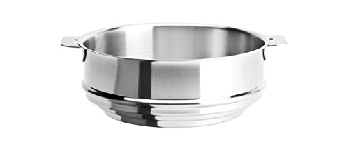 Cristel - CVU20QL - Cuit vapeur universel inox 20cm - sans poignée amovible - Collection Strate