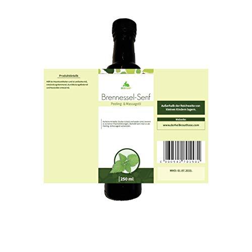 Brennessel-Senf | 250 ml | Peeling- und Massageöl