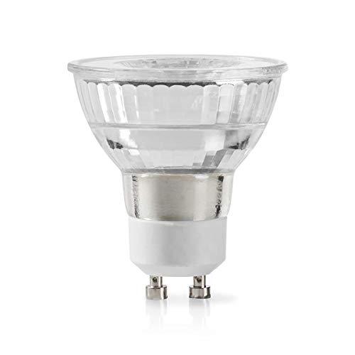 TronicXL LED Lampe GU10 Fassung Par 16 2,3 W 140 lm Gehäuse aus Glas Warmweiss