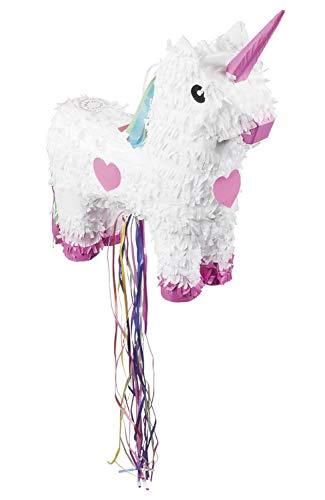 Pignatta Unicorno grande (47x39cm), bianco
