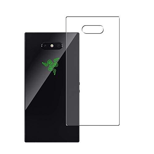 Vaxson 2 Stück Rückseite Schutzfolie, kompatibel mit Razer Phone 2 Phone2, Backcover Skin TPU Folie [nicht Panzerglas/nicht Front Bildschirmschutzfolie]