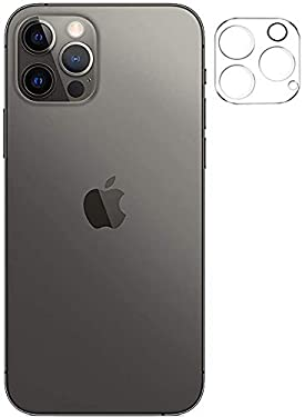Tough Lee Camera Lens Protector Tempered Glass for Apple iPhone 12 Pro (Transparent) with Easy Installation Kit; Pack of 1