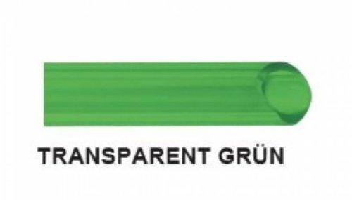 FLEXTUBE GR /Ø 25mm vert flexible 1 poids moyen Longueur 25m Tuyau spirale en PVC comme tuyau daspiration et de refoulement transparent