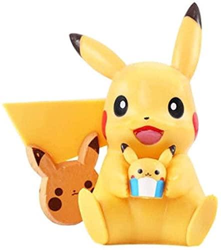Anime Figuren Pokemon Pokemon Handgemaakte Pokemon Pikachu Doll 11cm Kids Verjaardag Doll Decoratie Decoratie Ornamenten LNNDE