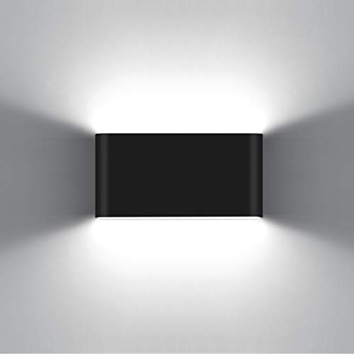 KAWELL 12W Moderno Apliques de Pared LED Luz de Pared Aluminio LED...