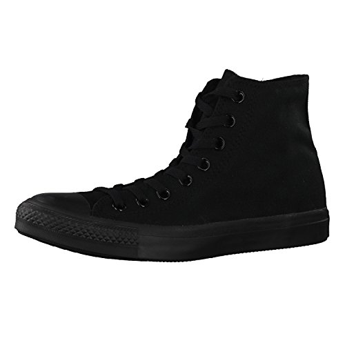 Converse Chuck Taylor All Star Hi Top, Zapatillas Unisex Adulto, Negro (Black Mono), 50 EU