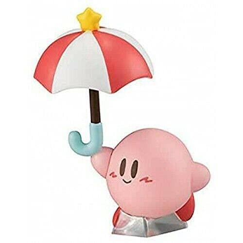 Takara Tomy Kirby Pupupu Friends Mini Figure Part 2~Parasol Kirby
