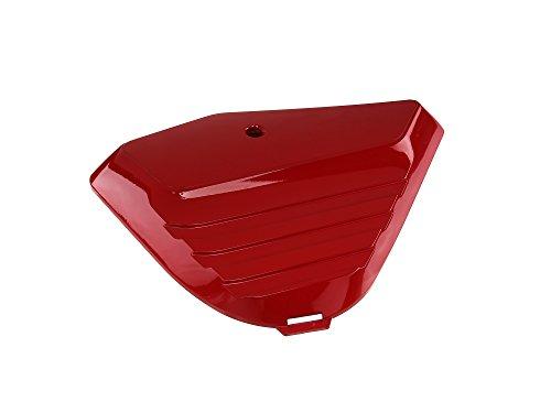 Simson Tapa Lateral Izquierda–ABS Chimenea Rojo