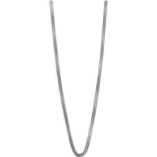 BERING Halskette für Damen in silber | Twist & Change | 423-10-500