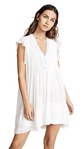 Poupette St Barth Women's Sasha Mini Dress, White, X-Small