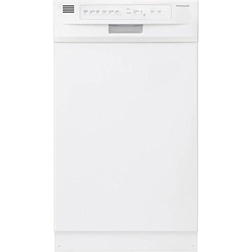 Frigidaire FFBD1821MW Built in Full Console Dishwasher in White