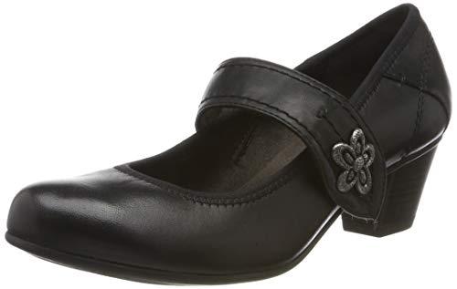 Jana 100% comfort Damen 8-8-24301-23 Slipper, Schwarz (Black 001), 40.5 EU