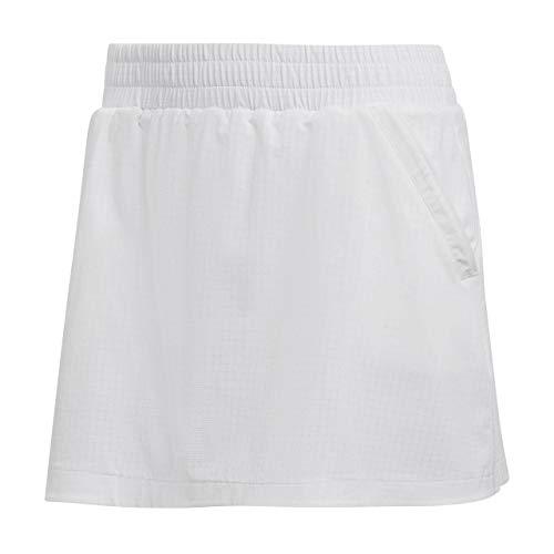 adidas Seasonal Skirt – Gonna, Donna, Colore: Bianco (Bianco/Rosso), Donna, Bianco/Rosso (rossho), XL