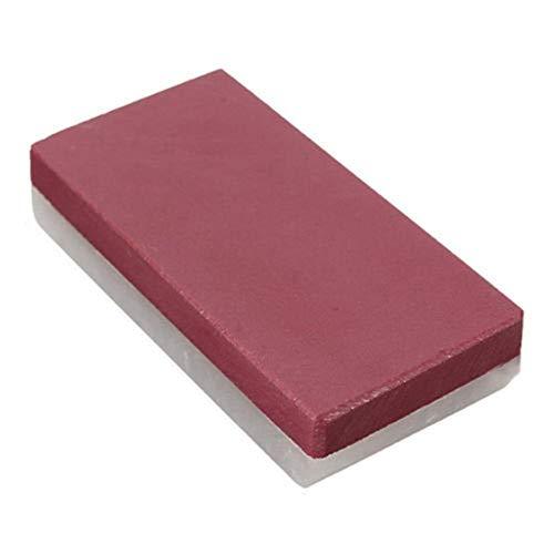 JUECAN Grote voorraad 3000# 10000# Scherper dubbele slijpsteen gezicht rode korrel witte steen polijstmachine