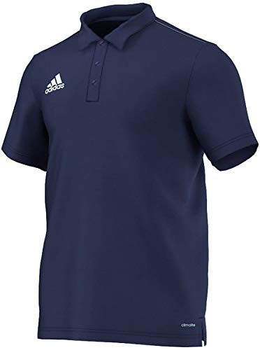 Adidas Core 15 Polo Homme, Dark Blue/White, FR : S (Taille Fabricant : S)
