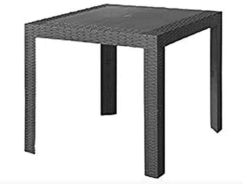 areta are057 Table, Saturne, Anthracite, 80 x 80 cm