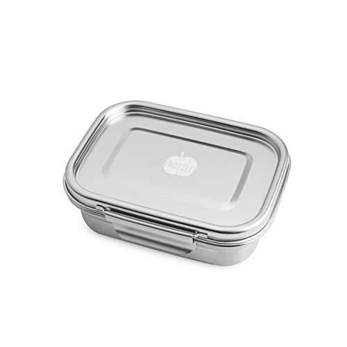 Dichte Lunchbox 'BUDDY' aus Edelstahl, 780 ml - 100% BPA frei, fest verschliessbar