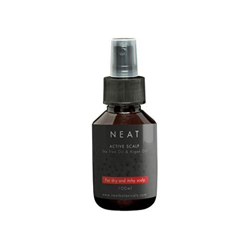 Soin des cheveux NEAT | Cuir chevelu sec I Gommage pour le cuir chevelu | Spray huile essentielle tea tree I 100ml | Soins capillaires I Alternative au shampoing antipelliculaire
