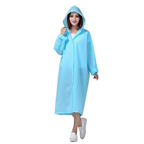 SQYY Poncho Outdoor Regenmantel Für Erwachsene Fashion Lady Durchscheinend Peeling Dicken Regenmantel Travel Outdoor Kompakt Und Leicht Zu 100% Wasserdicht Und Atmungsaktiv Zu Tragen,M