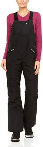 Swiss Alps Womens Insulated Waterproof Breathable Performance Ski Bib Pants with Pockets Deep product image