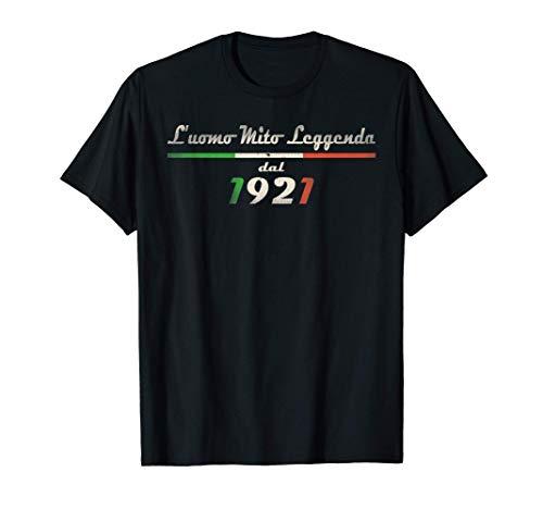 Uomo Vintage 1921 Leggendario 100 Anni Di Compleanno Uomo Maglietta