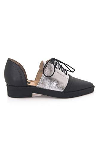 Joyas - Oxford Schuhe - Lexy - für Damen, handgefertigt aus Leder, bietet dauerhaften Komfort, lässig für Frühling, Herbst