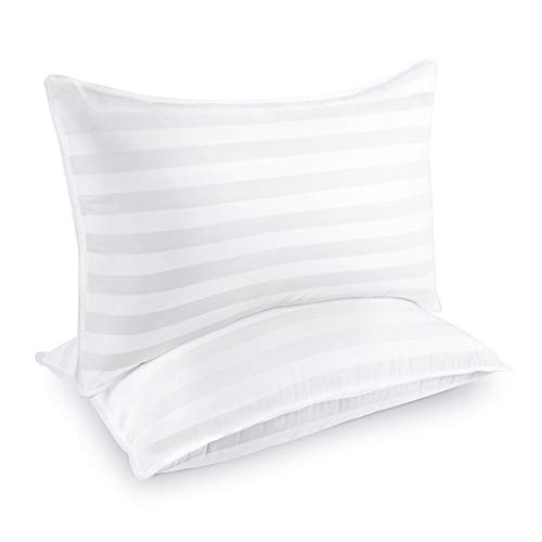 COZSINOOR Hotel Collection Pillows for Sleeping (2-Pack)- Luxury Down Alternative Pillow Breathable Premium Quality Cover Skin-Friendly(Queen Size)