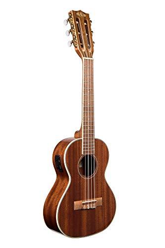 Kala KA-6E - Ukelele tenor eléctrico (6 cuerdas, caoba brillante)
