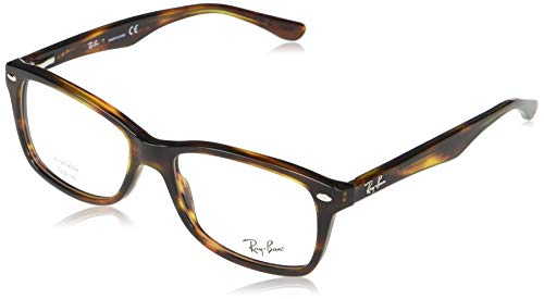 Ray-Ban Rx5228 0RX52282144, Striped Havana, 55 Unisex Adulto