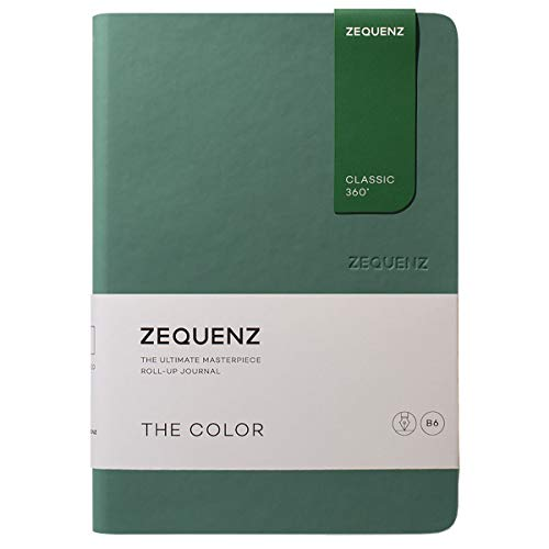Zequenz Classic 360 The Color B6 Notebook, Dotted, Jade