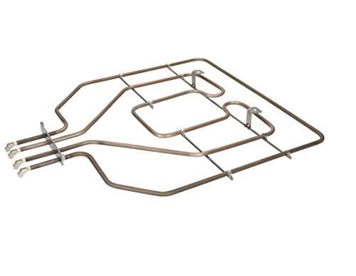 DREHFLEX - HZG475 - Oberhitze/Heizung/Heizelement - passend für diverse Bosch/Siemens/Neff/Constructa Herde/Backofen - passend für Teile-Nr. 00471375/471375 EGO E.G.O.