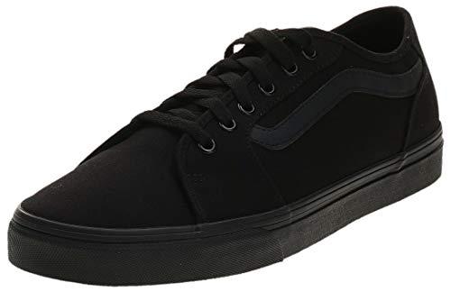Vans Filmore Decon, Sneaker Hombre, Negro Lona Negro Negro 186, 43 EU