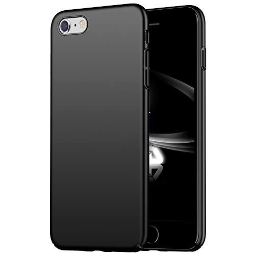 YUYIB iPhone6ケース iPhone6s ケース 薄型 軽量 耐衝撃 PC素材 指紋防止 スマホケース (iPhone6 / iPhone6s, ブラック)