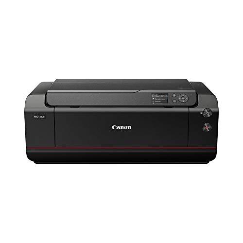Canon imagePROGRAF PRO-1000 (DIN A2 Druck randlos, 12-Tintensystem, WLAN, LAN, 7,5 cm Farbdisplay), schwarz