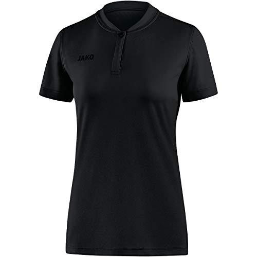 JAKO Damen Polos Polo Prestige, schwarz, 42, 6358